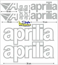 AUFKLEBER STICKER-SET APRILIA MOTORRAD VIELE FARBEN