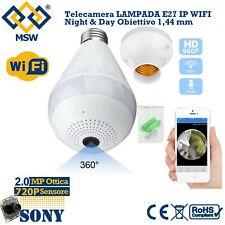 Telecamera iP WiFi da INTERNO 2 MPX Ottica Sensore da 720P Day Night App ICSEE