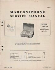 1950s Collectable Radio Manuals & Publications