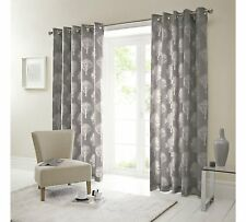 Fusion Woodland Trees Ready Made Curtains - Eyelet & Lined Curtains