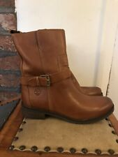 Timberland Women's Leather Ankle Boots Size UK5, EU38, US7W Tan