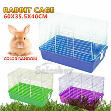 Large Pet Rabbit Bunny Hutch Ferret Guinea Pig Cage Run Chinchilla House Carrier