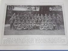 More details for wwi antique print ww1 n.c.o's of the 2/5 battalion east surrey regiment - named