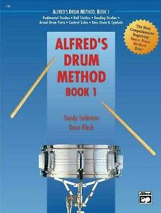 Alfred's Drum Method: Book 1 free delivery