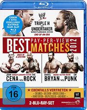 WWE The Best Pay Per View PPV Matches 2012 2x BLU-RAY DEUTSCH NEU