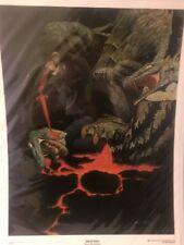 Vintage Siegfried Print Signed & Numbered Bernie Wrightson Nm- 99/100