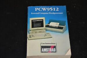 PCW9512 Personal Computer Word processor User Instructions Amstrad