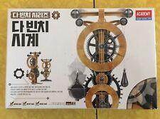 Academy Da Vinci Series Clock Hobby Model  Edu Kit Plastic Model (#18150A)
