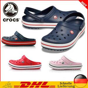 Unisex Strandschuhe Slippers Crocband Schuhe Clogs Hausschuhe Sandale Badeschuhe
