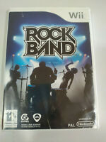 Rock Band BON JOVI Metallica THE WHO Clash - Set Wii Nintendo Pal - 3T