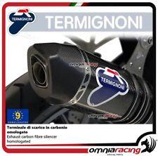 Termignoni RELEVANCE terminale scarico carbonio omologato BMW R1200GS 13>2016