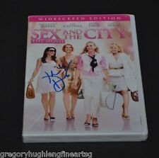 SEX and the CITY DVD Signed by KRISTEN DAVIS THE MOVIE