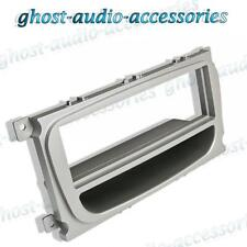 Ford Focus Silber CD Radio Platte Stereo Armaturenbrett Adapter Platte Panel