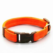 Dog collar Nylon 7 colors are optional neck strap Adiustable 4 sizes for small a