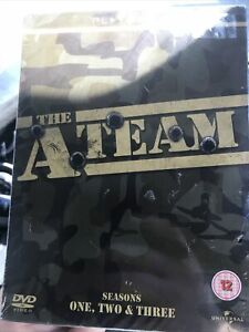 THE ATEAM Boxset Series 1 .2 And 3 New And Sealed