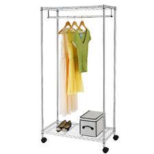Closet Storage Organizer Garment Rack Portable Clothes Hanger Dry Home Shelf
