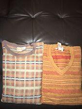 Ermenegildo Zegna Plaid Sweater Lot (2) XL/54 EU