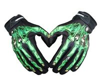 Ghost hand Motocycle MTB Road Cycling Bike Full Finger Glove Short racing Gloves