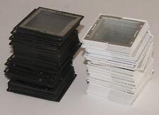 100 Stück Gepe Mittelformat Diarahmen Glas 6x6 verglast Antinewton MF 7x7