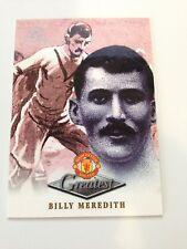 Manchester United Futera Platinum 1999 Greatest Card (BM)