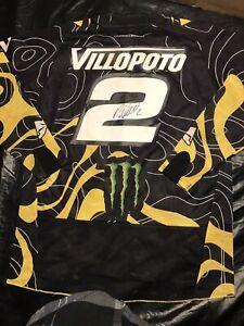 Ryan Villopoto Signed Jersey Race Used Motocross Supercross