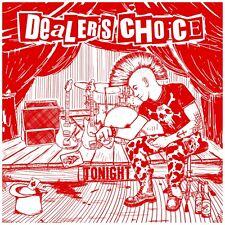 DEALER'S CHOICE - TONIGHT LP NEU DLC Clear Red 155 copies Punkrock Oi Razorblade