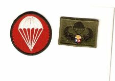 Philippines Air Force PAF Paratrooper Cap Patches and Parachutist Airborne Wings
