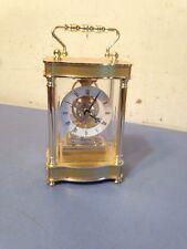 Bulova Quartz Skeleton Movement Desk Clock
