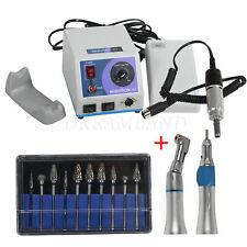 Micro moteur 35K RPM laboratoire dentaire Marathon N7 avec pièce à main +10 Burs