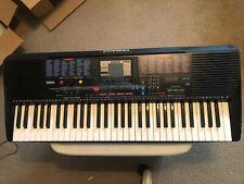 Yamaha Psr-220 electronic keyboard - 100% clean instrument. w/ power transformer