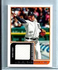 2012 Topps Baseball Mini Relic # MR - 46  Miguel Cabrera  Detroit Tigers