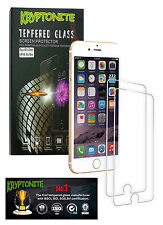 2x Pack KRYPTONITE Protectores de Pantalla de Vidrio Templado para iPhone 6/6S