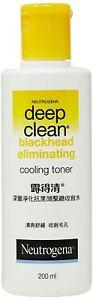 2X Neutrogena Deep Clean Blackhead Eliminating Cooling Toner - 200 ML