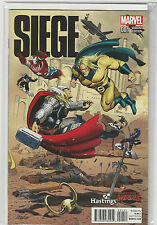 Siege #1 Hastings Variant Marvel Comics Connecting Variant NM+