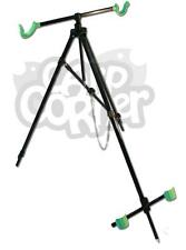 NGT Sea Fishing Tripod Rod Rest Pier Beach Pro System For 2 Rods Extendable Legs