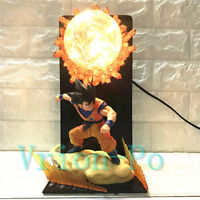 Dragon Ball Z Saiyan Son Goku Figure DIY LED Light Night Lamp Kids Boys Gift Toy