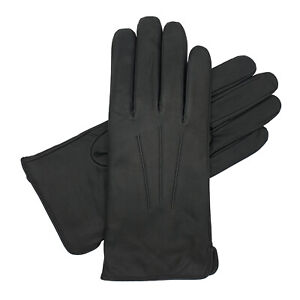 Women's Wool Lined Water Resistant Leather Glove - UK Materials, British Made!