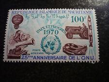 Stamps - Mauritania - United Nations 25th. Anniversary - Scott# C97
