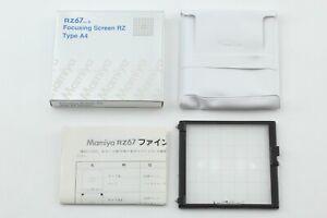 🔹Almost UNUSED in Box🔹 Mamiya RZ67 Pro II Focusing Screen Type A4 Grid Japan