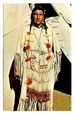 Louise Plentyholes Oglala Sioux Pineridge Indian Reservation So Dakota Postcard