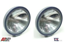 "2x 9"" 24v 70w Bull Nudge Bar Roof Bar Fog Lights Lamps for Mercedes Iveco Ford"