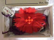 NEU LANVIN X POUR <3 H&M CLUTCH POCHETTE TASCHE BLUME FLOWER CHAIN CROSSBODY