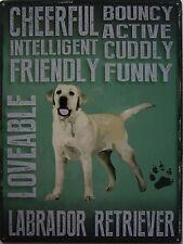 Labrador Retriever Pet Metal Sign