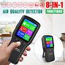 8in1 Luftqualität Messgerät PM10 PM2.5 HCHO AQI Laser Detektor Haus Luft