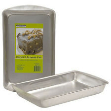 New Heavyweight Steel Cooking Concepts Biscuit Brownie Cake Baking Pan 11 X 7