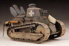 Award Winner Built Meng 1/35 German FT-17 Tank Cast Turret 3.7cm +PE/Interior