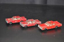 MATCHBOX MERCURY FIRE CHIEF & 2 x N. 50 FORD GALAXIE FIRE CHIEF