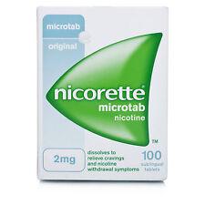 Nicorette 2mg Microtab (100)