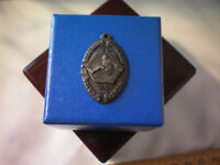 Antique 1930 Recreation Department Long Jump Sports Medal Award Pendant Charm