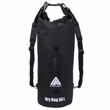 Dry Bag 50L wasserdichter Packsack Rucksack Seesack + Schultergurte & Tragegriff